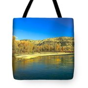 Fall Reflections Tote Bag