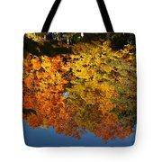 Fall Reflectionsin Michigan Tote Bag