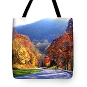 Fall Road 2 Tote Bag