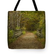 Fall Trail Scene 24 Tote Bag