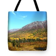 Fall Valley Tote Bag