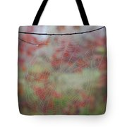 Fall Web Tote Bag
