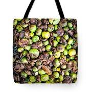 Fallen Apples Tote Bag
