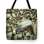 Fallen Feathers Tote Bag