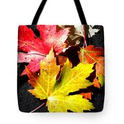 Fallen In The Fall Tote Bag
