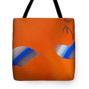 Falling Blue Tote Bag
