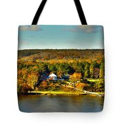 Falling Into Color Tote Bag