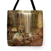 Falling Into The Canyon Tote Bag
