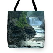 Falling Into The Genesee Tote Bag
