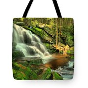 Falling Through The Woods Tote Bag