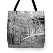 Falling Under The Bridge Tote Bag
