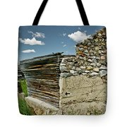 Falling Wall Tote Bag
