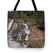 Falling Water Glen Alpine Falls Tote Bag