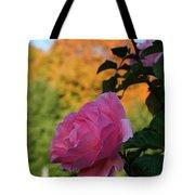 Fall's Final Rose Tote Bag