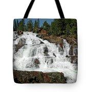 Falls Glen Alpine Falls Tahoe Tote Bag