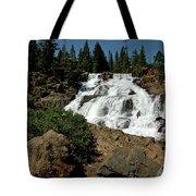 Falls In Site Glen Alpine Falls Tote Bag