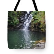 Falls Into The Pond Tote Bag