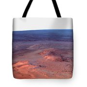 False Color Mosaic Of Greeley Haven Tote Bag