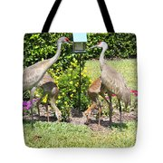 Family Meal Time Tote Bag