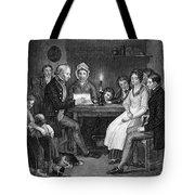 Family Reading, 1840 Tote Bag