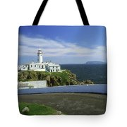 Fanad Lighthouse, Co Donegal, Ireland Tote Bag
