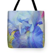 Fanciful Flowers - Iris Tote Bag