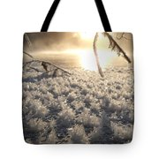 Fanciful Frosty Fractal Forest Tote Bag