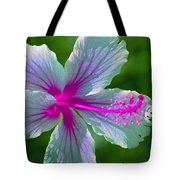 Fanciful Hibiscus Tote Bag