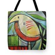 Fancy Bird Tote Bag