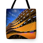 Fancy Cardiff Carpark Facade Tote Bag
