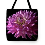 Fancy Dahlia Tote Bag