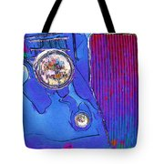 Fancy Dancy Vintage Ford Cabriolet Tote Bag