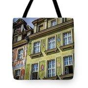 Fancy Facades - Posnan Poland Tote Bag