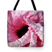 Fancy Hibiscus Tote Bag