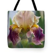 Fancy Iris Dance Ruffles Tote Bag