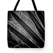 Fanned Leaves Tote Bag