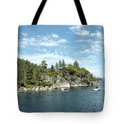 Fannette Island Boat Party Tote Bag