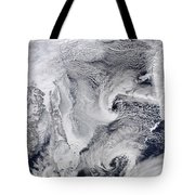 Far Eastern Russia Covered In Snow Tote Bag