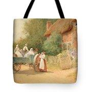 Farewell Tote Bag by Arthur Claude Strachan
