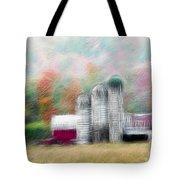 Farm In Fractals Tote Bag
