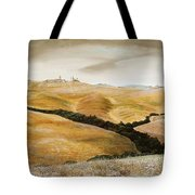 Farm On Hill - Tuscany Tote Bag