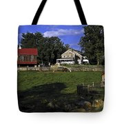 Farm Scene Tote Bag