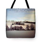 Farmer's Christmas Tote Bag