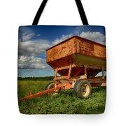 Farmer's Grain Wagon Tote Bag