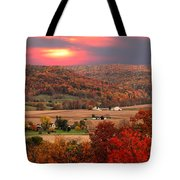 Farmers Of Paint Valley Tote Bag