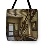 Farmhouse Entry Hall And Stairs Tote Bag by Lynn Palmer