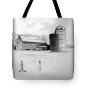 Farmhouse Tote Bag by Michael Ringwalt