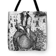 Farming: Corn Husker Tote Bag