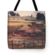 Farming In The Rift Valley Tote Bag