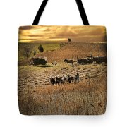 Farming To Beat The Storm Tote Bag